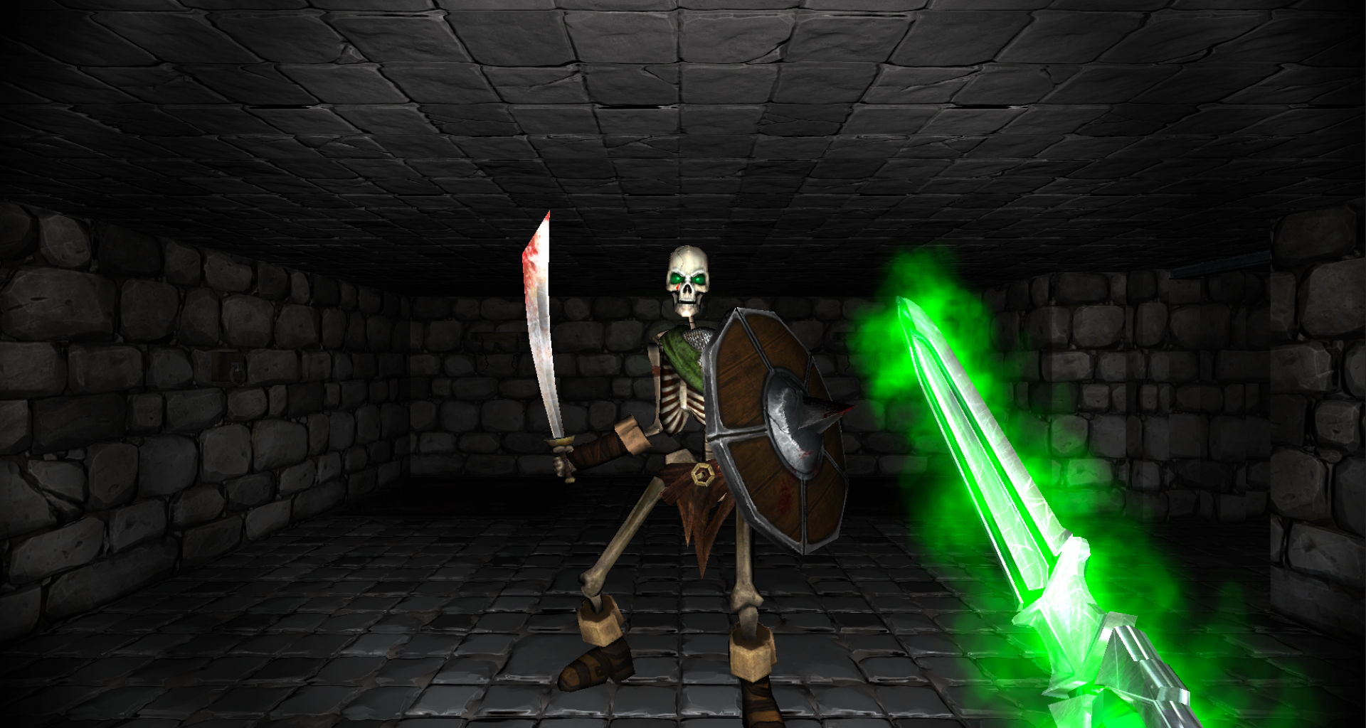 Crystal Rift – A grid-based dungeon-crawler, in classic first person